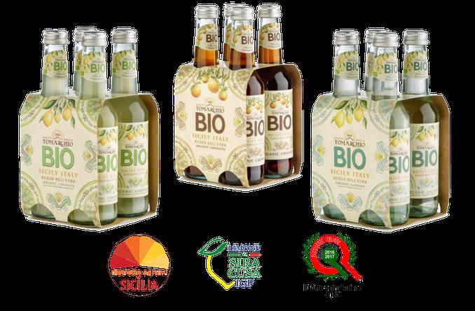Getränke bio, Limonata bio Tomarchio, Bio Soft-Drinks Tomarchio, Gazzosa bio Tomarchio, Chinotto bio Tomarchio, Tomarchio Svizzera