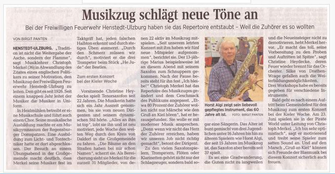 Blasorchester & Blasmusik aus Henstedt-Ulzburg