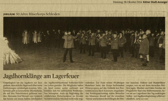 Kölner Stadt-Anzeiger v. 28.10.2014