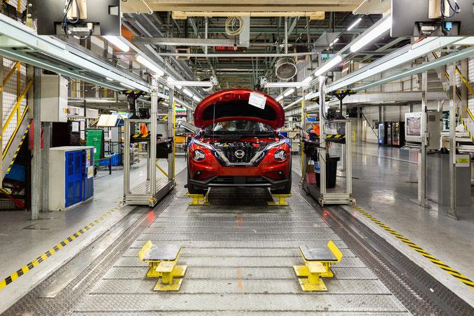 Le Nissan JUKE 2 rentre en production à Sunderland