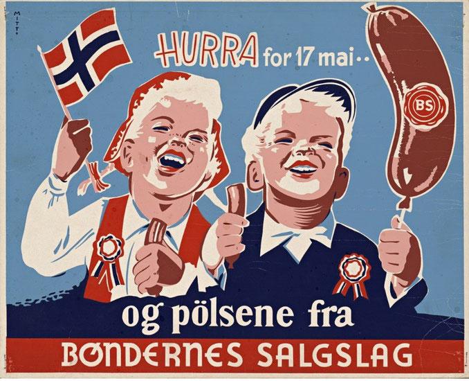 En sveitser i Norge, 17. mai og Wiener pølser - Romeos Blog om Mat og Ting
