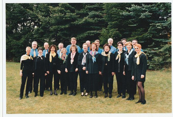 Das Chorensemble Da Capo  aus Wernborn 1998