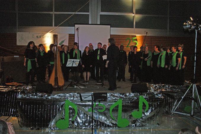 Da Capo beim Jubiläumskonzert in Wernborn 2011