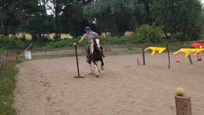 Tjosten Jousting Reiten Pferd Tinker Mittelalter Turnierreiten