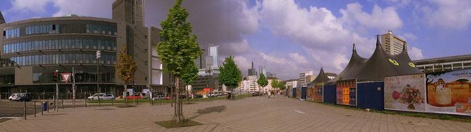 Frankfurt am Main - Gallus - Europa Allee / Frankenallee - Mai 2013