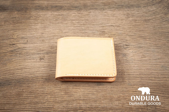 Bifold wallet handcrafted leather goods