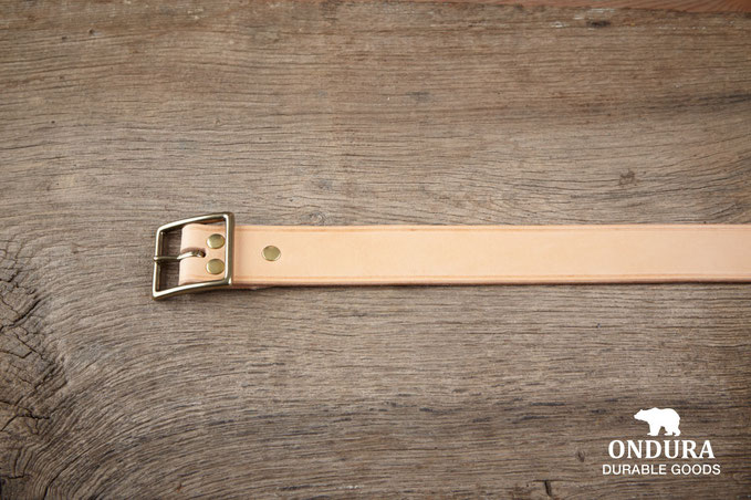 Heritage brand chino belt handcrafted in germany