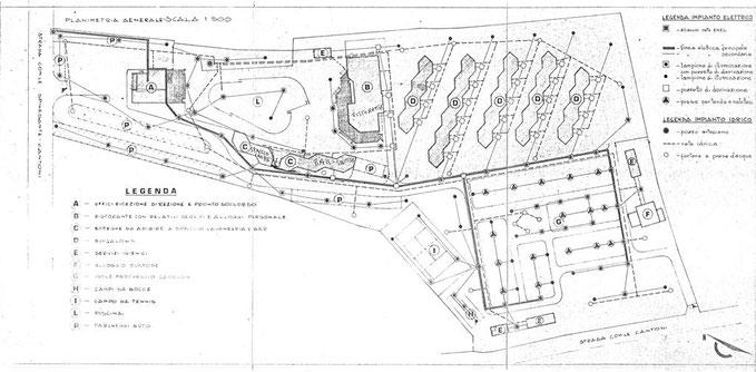 Planimetria Centrovacanze Cantoni