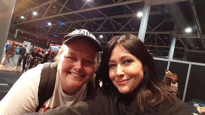 Shannen Doherty at Dutch Comic Con