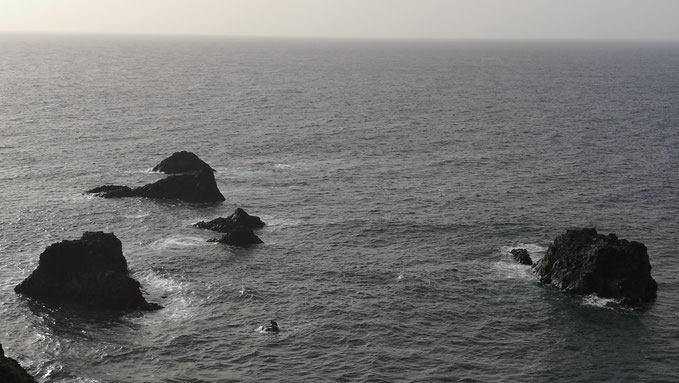 Los Roques de las Islas, en Lotavia / Roques en La Zamora, La Palma.