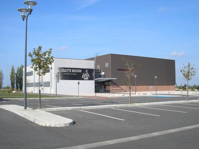 Les verts ont disputé leur deux matchs au sein du gymnase Colette Besson Crédit photo: Communauté des communes Coteaux-Bellevue