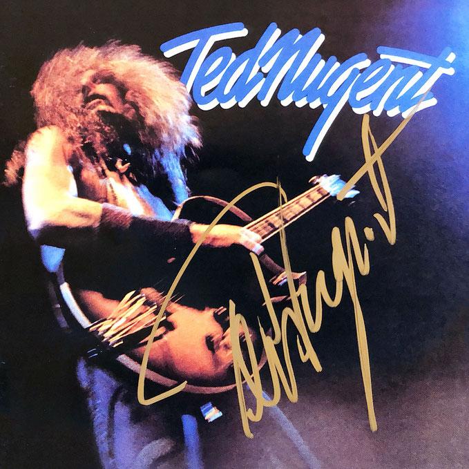 Autograph Ted Nugent Autogramm