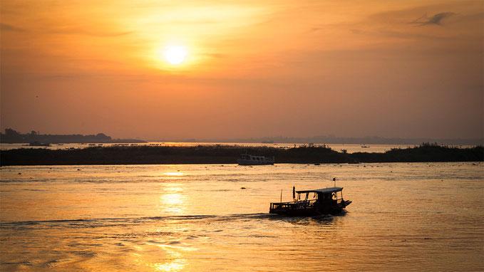 Tonle Sap y Mekong, en Phnom Penh