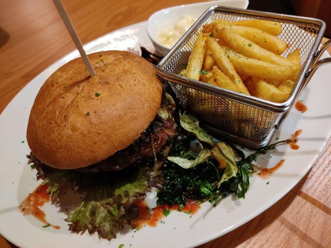 Beef Burger - mit hausgemachten Zwiebelchutney