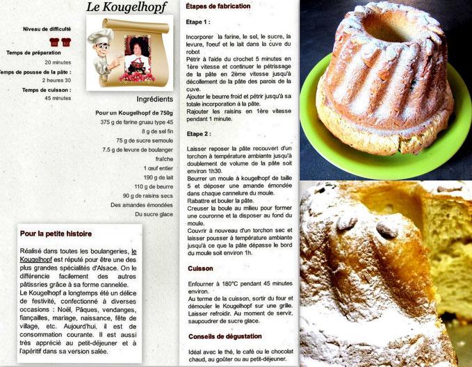 Le Kougelhopf Alsacien avec recette