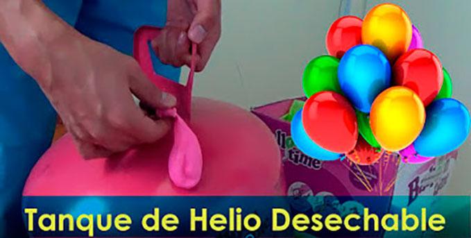 tanque de helio para globos desechable