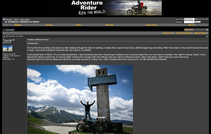 ADVRider.com Website