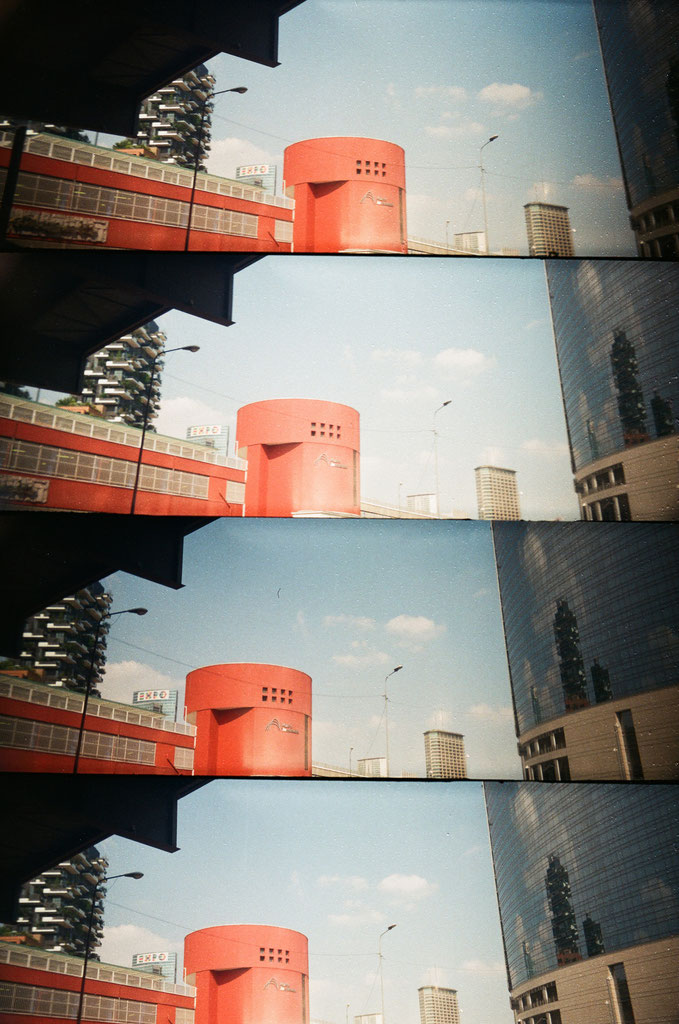 Milano (with Lomography Supersampler Camera)