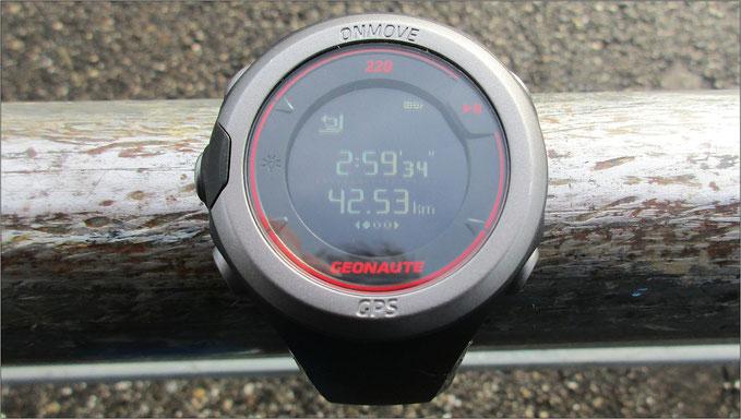 Mein Ergebnis nach dem München Marathon.