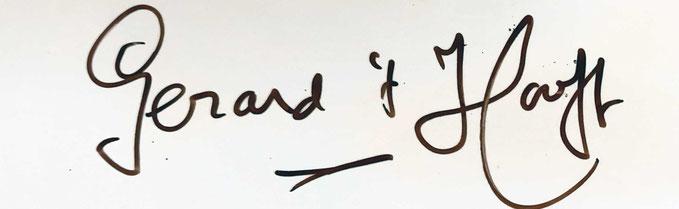 Autograph Gerard t'Hooft Autogramm
