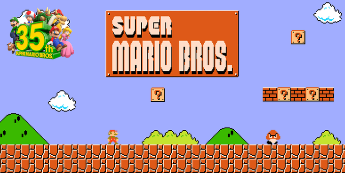 Mario, Super Mario Bros, NES, Nintendo, Switch, Mario35, 35, Luigi, Goomba, Peach, Bowser, Toad, Koopa, Entertainment System, Switch, Online, 1985, Japan, Pilz, Gumba, Schloss, Podcast
