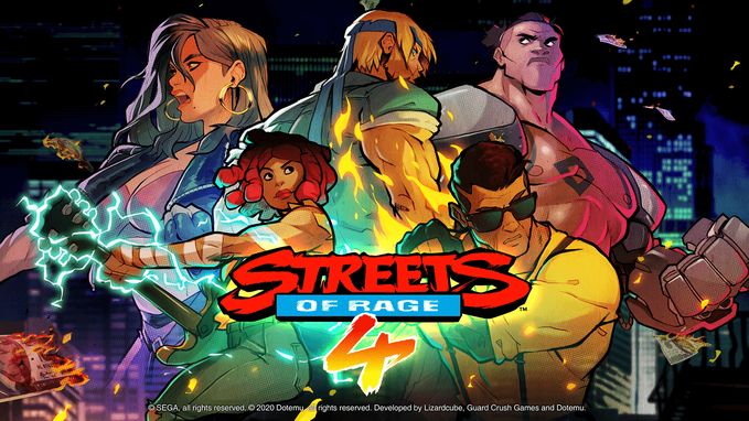 Streets of Rage 4, SEGA, Lizardcube, Dotemu, Guard Crush Games, Bare Knuckle, Axel, Blaze, Wonder Boy, Cherry, Hunter, Adam, Floyd Iraia, Estel Aguirre, Retro, 16 Bit, Skate, Zan, Shiva, Mr. Y, Ms. Y, Max Thunder, Beat'em'up, Beat em up, Mega Drive