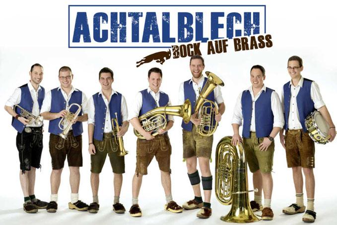 ACHTALBLECH auf dem Brass & Blasmusikfestival Seepark Pfullendorf 15.-17. Juni 2018