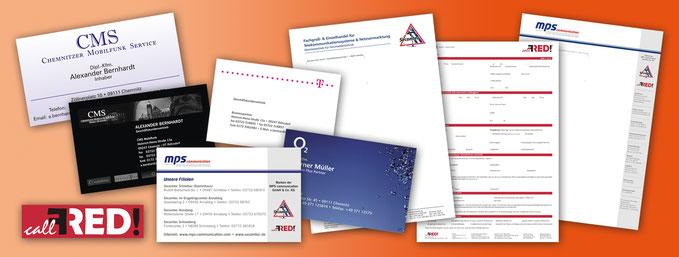 Logo, Briefbögen, Visitenkarten