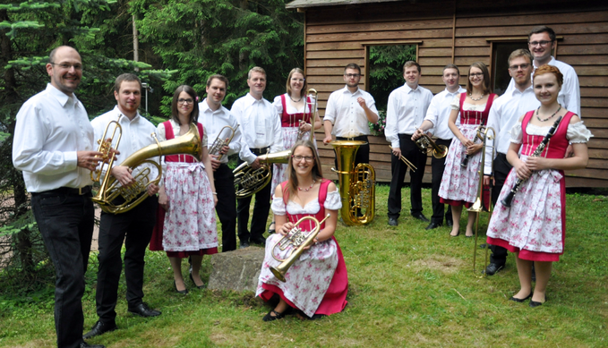 TANJA DUSEL und EUDAIMONIA auf dem Brass & Blasmusikfestival Seepark Pfullendorf 15.-17. Juni 2018