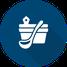 Icon Sauna - Aufguss Kübel mit Kelle