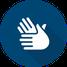 Icon Therapien - zwei behandelnde Hände