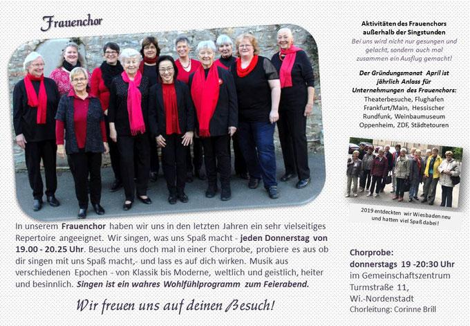 Frauenchor Wiesbaden Nordenstadt Concordia