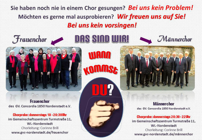 Frauenchor Männerchor Wiesbaden Concordia