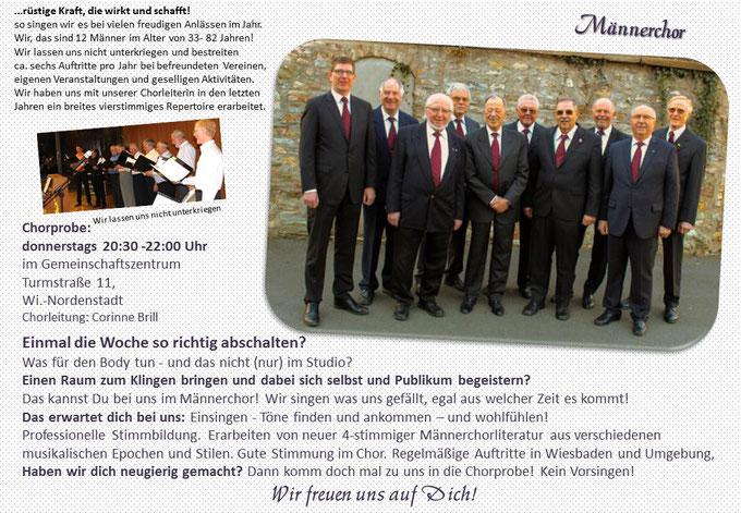 Männerchor Wiesbaden Nordenstadt Concordia