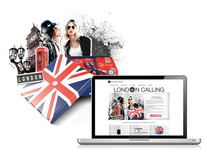 Glossybox // Best of Britain Kampagne