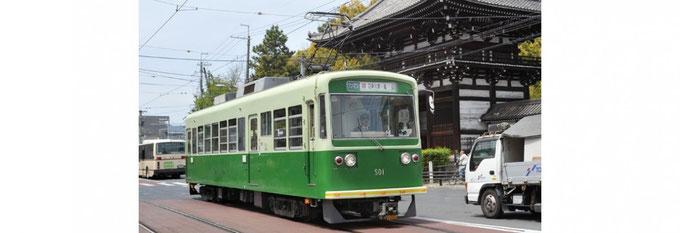 路面電車(京都市区的交通指南)