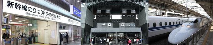 京都觀光(京都的新幹線)