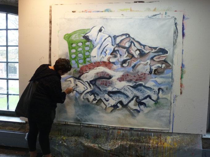 2016 Nasse Wäsche von Clara Andrés