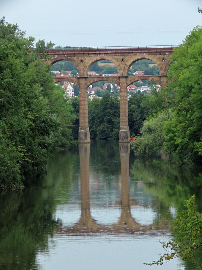 Viadukt über die Enz