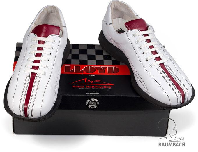 Nachbau eines Schuhes aus der Michael Schumacher Kollektion von LLOYD