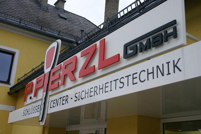 LED rückabstrahlende Schrift mit Logo