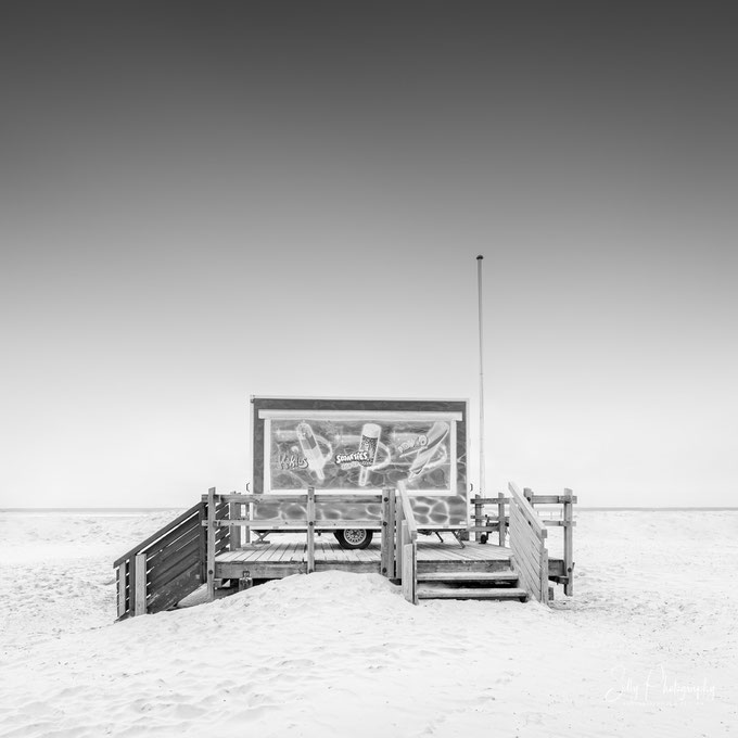 Sankt Peter-Ording / Nordsee, Langzeitbelichtung, 2019, © Silly Photography