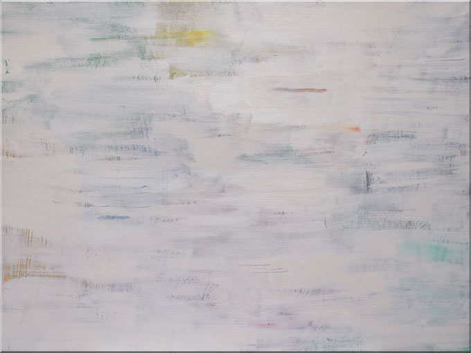 "Leinwandbild ""schemenhaft"",  80 x 60 cm, White Art"