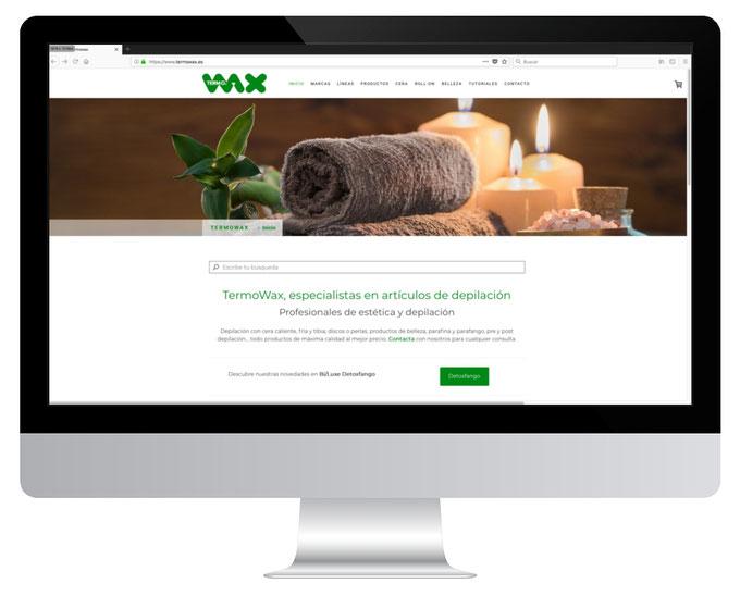 Página web de Termowax