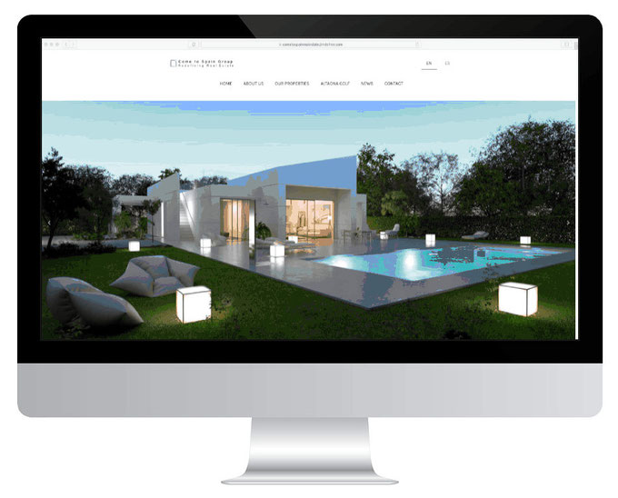 Página web de Come to Spain Group