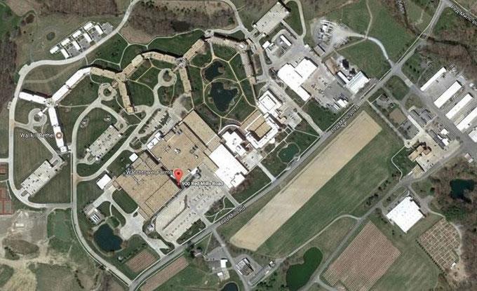 Фото Фермы Сторожевой Башни со спутника
