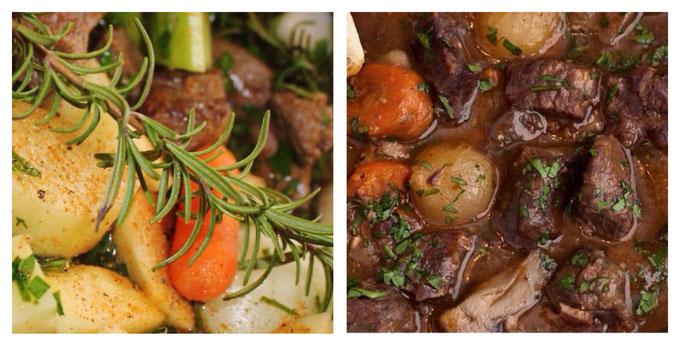 Ierse stoofpot met lamsvlees en Guinness.