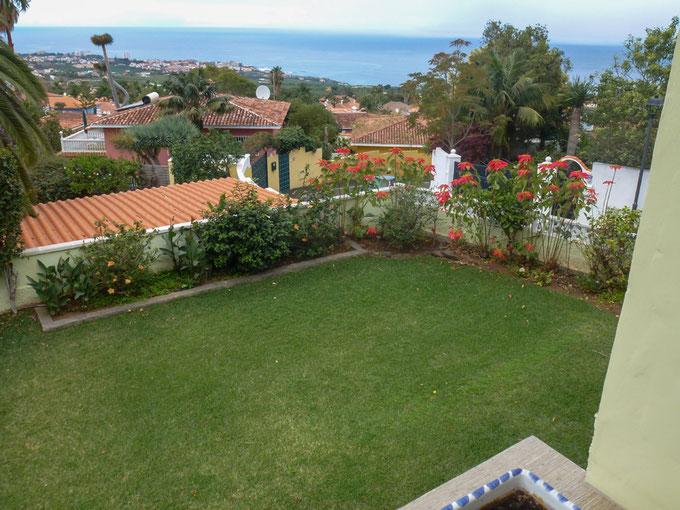 Meerblick aus dem Garten