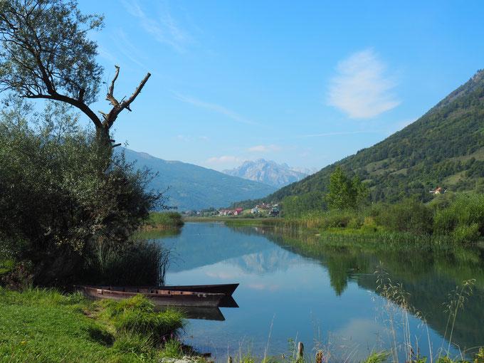 Gebirgssee bei Plav in Montenegro