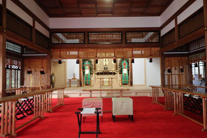 伊奈波神社 儀式殿